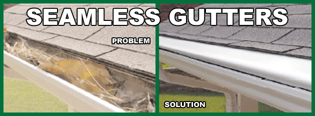 Constuction services seamless gutters gutter guard solutioingenieria Image collections